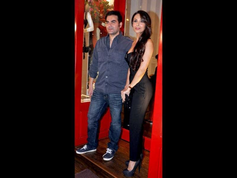 Malaika Arora and Arbaaz Khan also registered their presence.