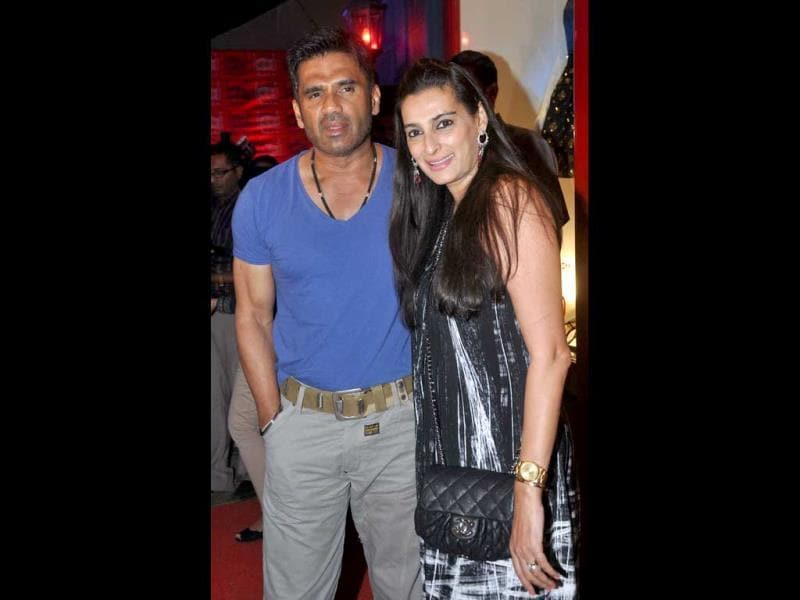 Suniel and Mana Shetty also made it to the event.