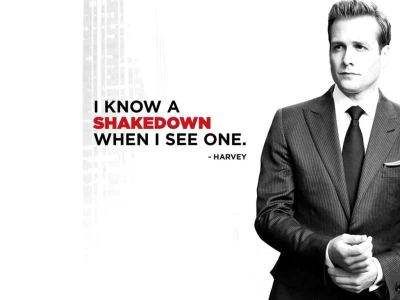Suits is a hugely successful legal TV drama set in New York. Gabriel Macht plays Harvey Spector in the series.
