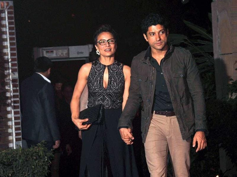 Farhan Akhtar also came on his Karthik Calling Kathik co-star's invitation.