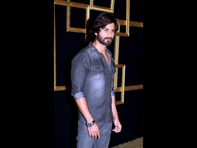 Shahid Kapoor in a rugged look.