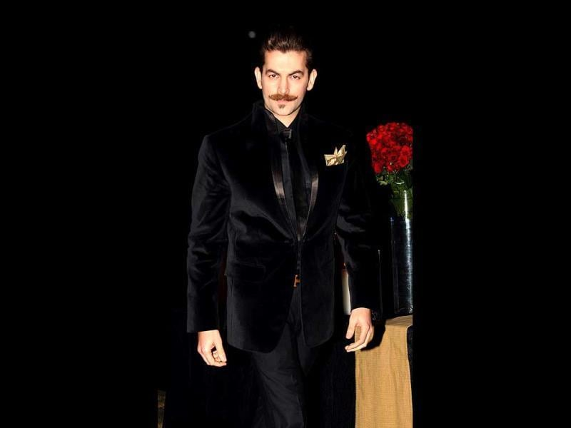 Neil Nitin Mukesh looks dapper.