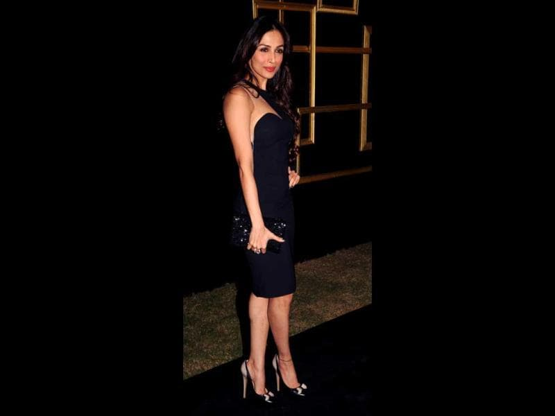 Malaika Arora Khan makes a statement in LBD.