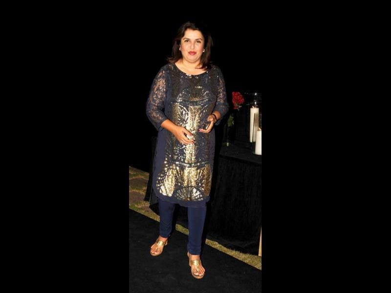 Happy times ahead: Farah Khan who's all set to direct Deepika in Happy New Year also made it to the do.