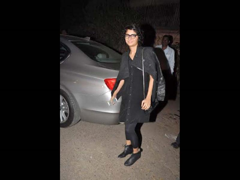 Kiran Rao also made it to the screening.