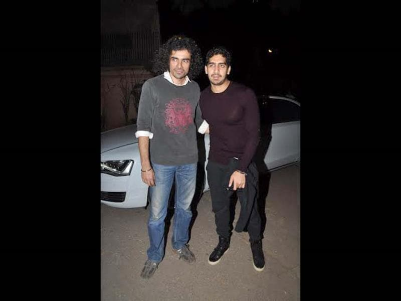 Imtiaz Ali and Ayan Mukherji also attended the screening.