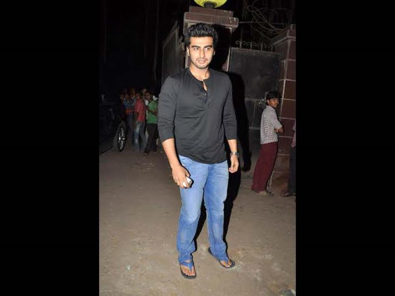 Arjun Kapoor also came to watch the film.