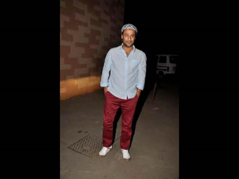 Director Abhishek Kapoor also attended the screening.