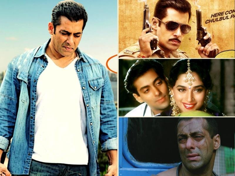It's been long since Salman Khan delivered a flop. Starting from Wanted, he has delivered a series of blockbusters including Ready, Dabangg and Ek Tha Tiger. Here's looking at the actor's best films on his 48th birthday.