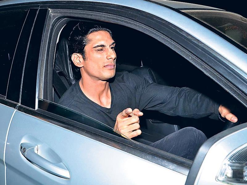 Ali Zafar arrives at the Salman Khan's birthday bash.
