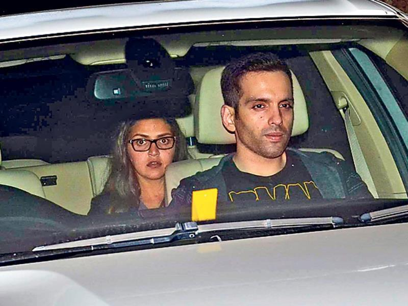Deepika Padukone at Salman Khan's birthday bash.
