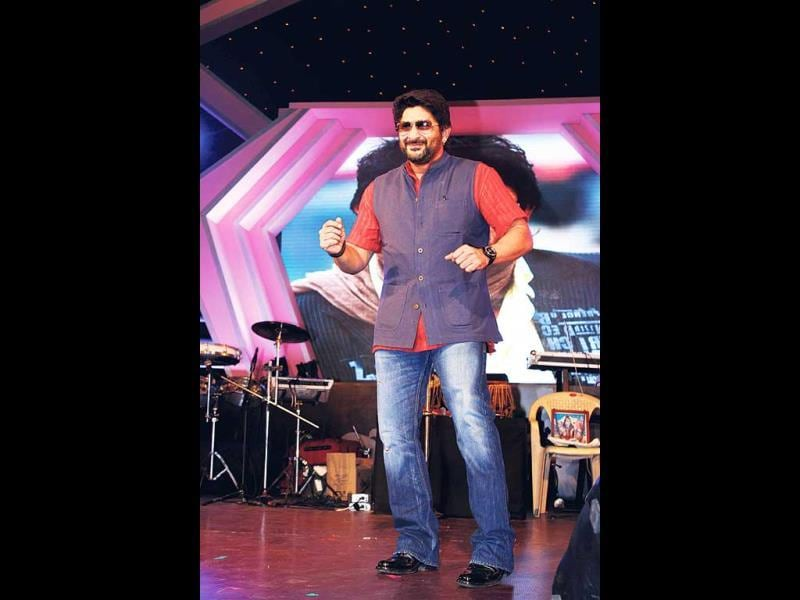 Arshad Warsi performs at Mulund Culture Fest