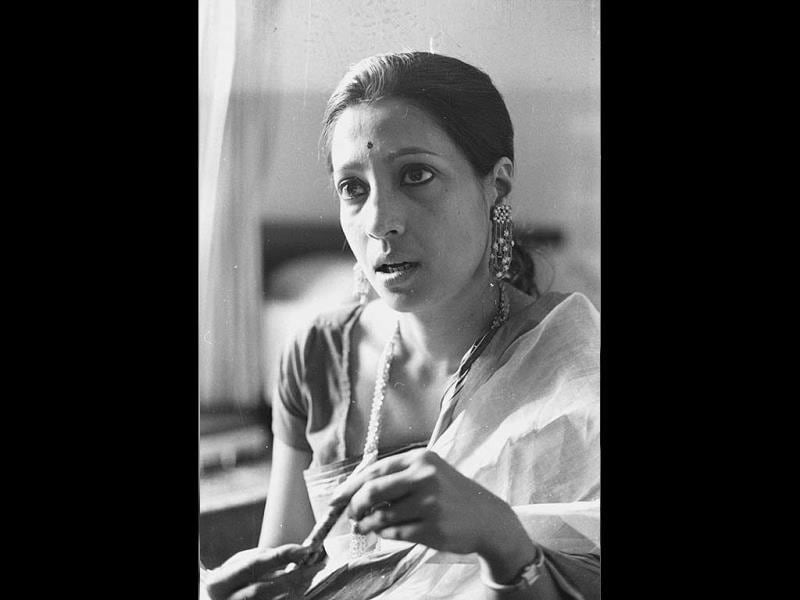 Suchitra Sen was awarded with Padma Shri in 1972 by Government of India. (HT Photo)