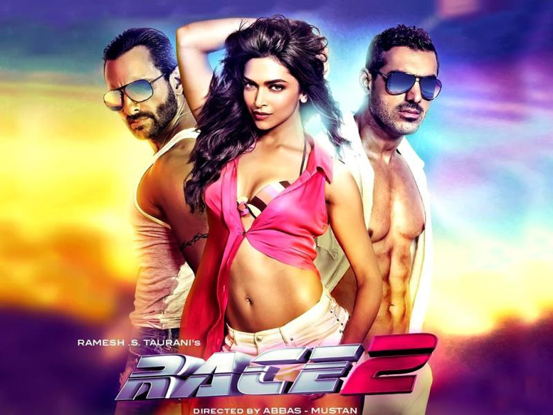 Race 2 (2013) again was a multistarrer, but Deepika managed to shine.