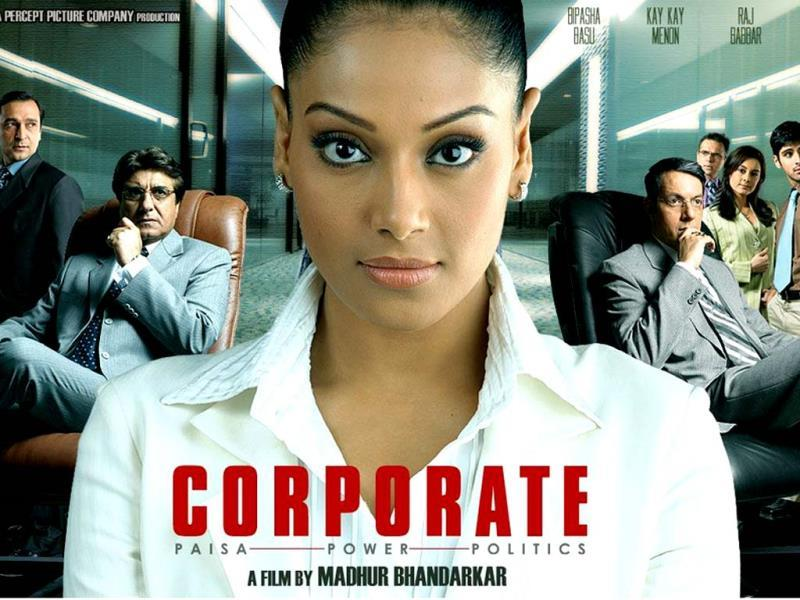 Bipasha Basu played a powerful business-woman in Madhur Bhandarkar's Corporate (2006).