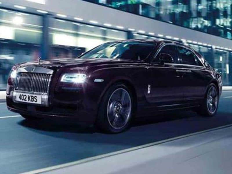 Rolls Royce takes wraps off Ghost V-Specification