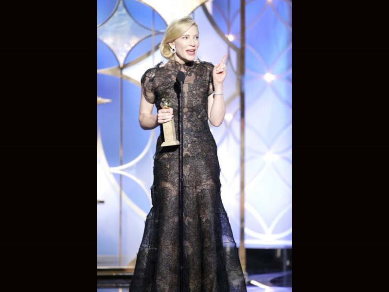 Cate Blanchett, Best Actress in a Motion Picture, Drama, for