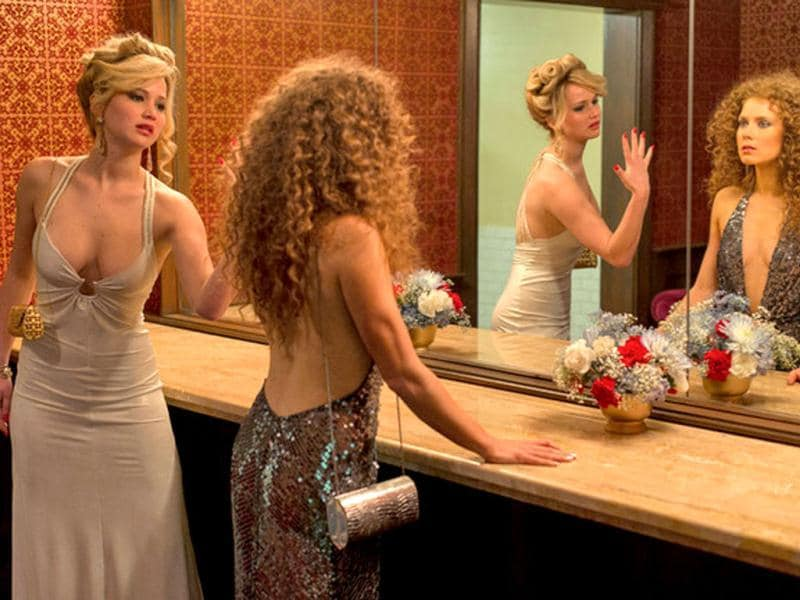 Because Oscar winner Jennifer Lawrence from Silver Linings meets Oscar nominee Amy Adams from The Fighter in this scene.