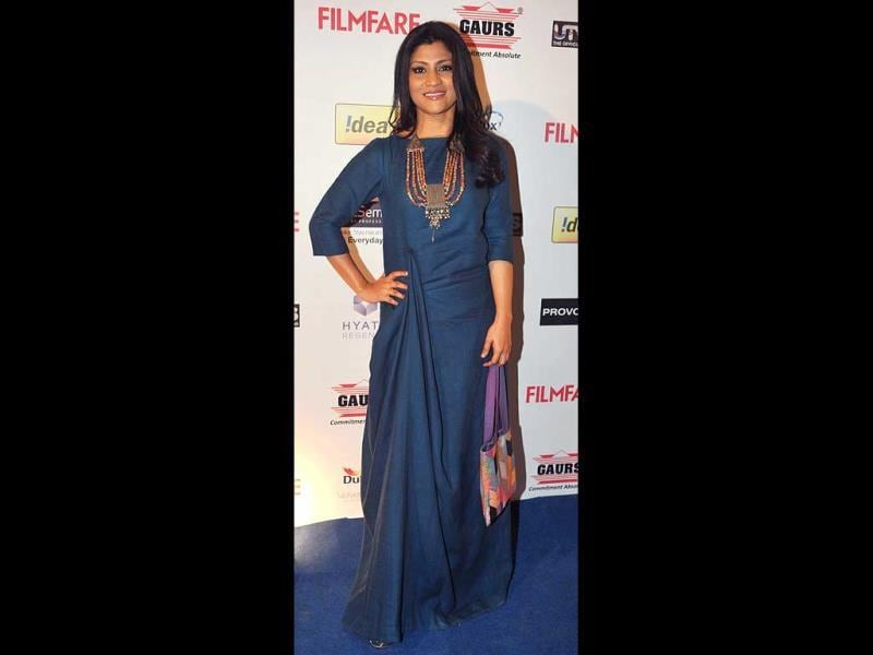 Konkona Sen Sharma looks graceful.