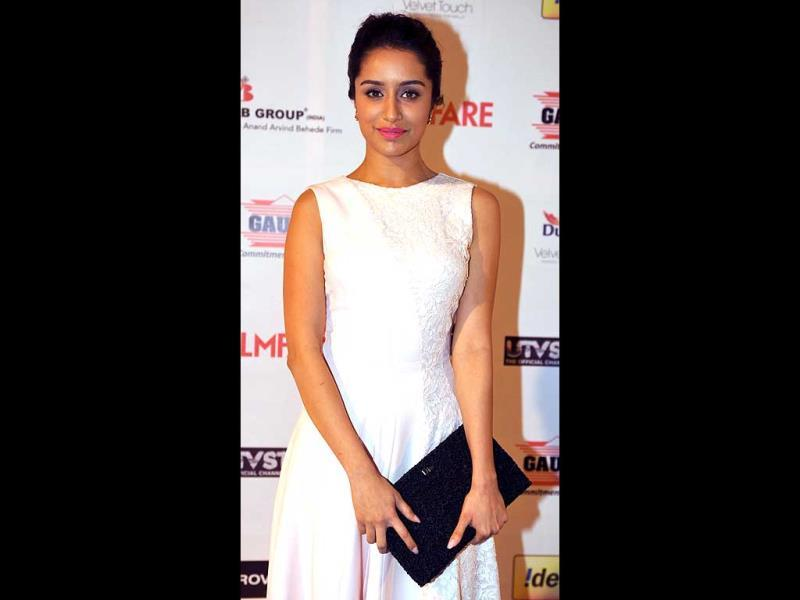 Shraddha Kapoor looks serene in white.