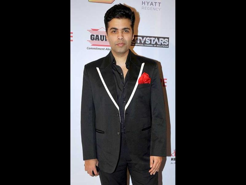 Karan Johar back in black.