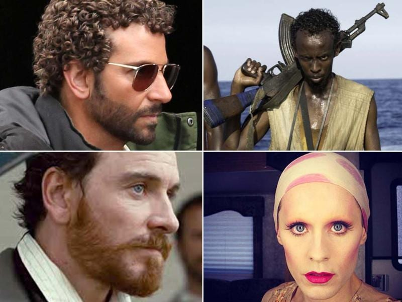 Best Supporting Actor: Barkhad Abdi (Captain Phillips), Jared Leto (Dallas Buyers Club), Michael Fassbender (12 Years A Slave) and Bradley Cooper (American Hustle). Jonah Hill has also been nominated for The Wolf Of Wall Street.