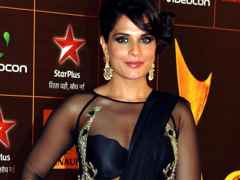 Richa Chadda strikes a pose. (AFP)
