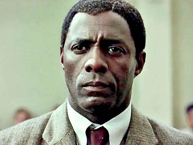 Based on Mandela's 1994 autobiography Long Walk to Freedom, Idris Elba portrays the character of the revolutionary president.