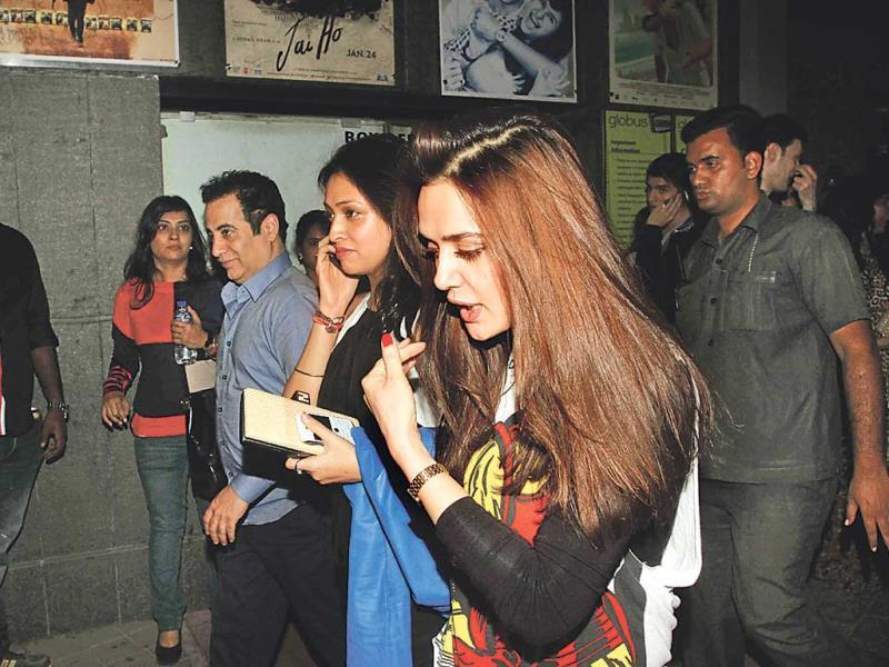 Preity Zinta was also spotted at the screening.