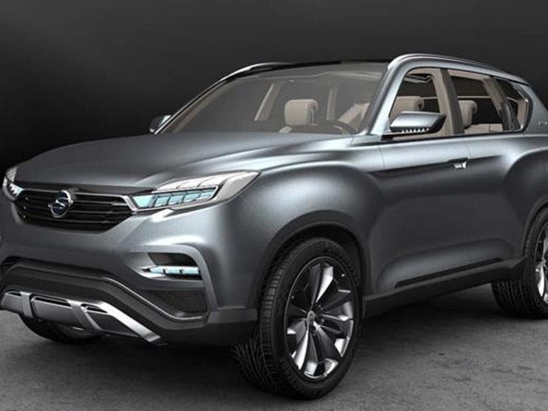 The SsangYong LIV-1 concept could possibly be the next-generation Rexton.