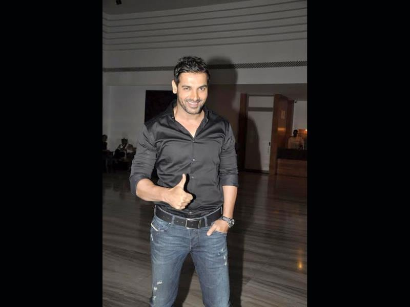 Hope I did a good job: John Abraham is elated.