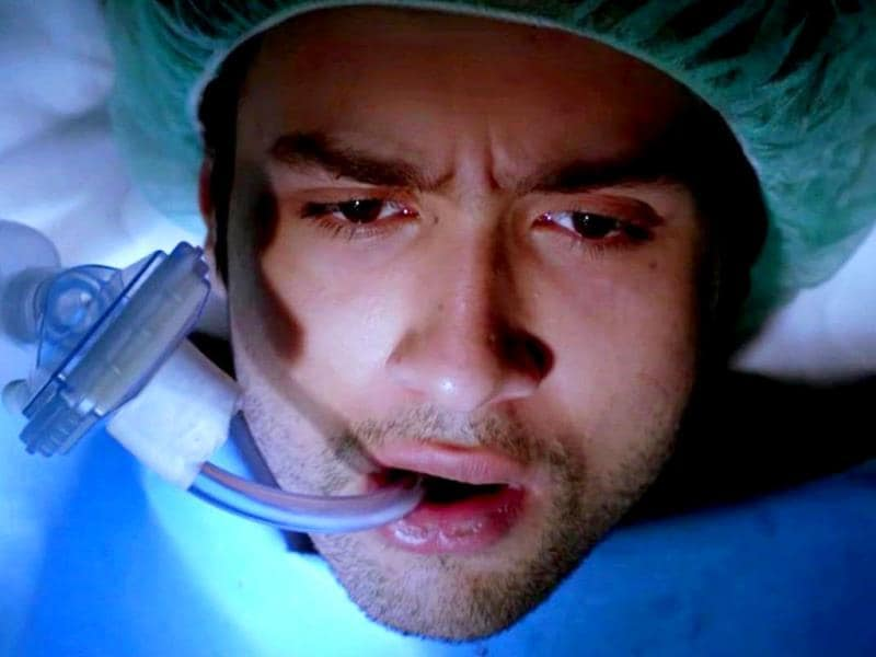 Adhyayan Suman: a patient in distress.