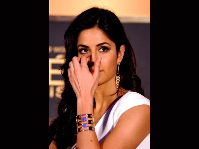 What's wrong with the nose, Katrina Kaif? (AFP Photo)