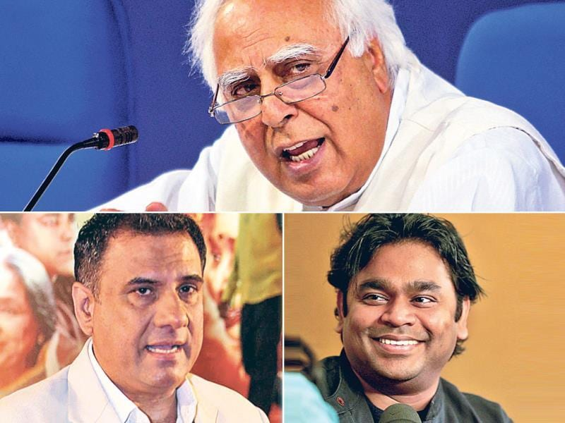 Kapil Sibal: The Union minister ­follows only 35 people on the microblogging website. Of these, actor Boman Irani and Oscar-winning ­musician AR Rahman, and Aamir Khan are the only names from Bollywood.