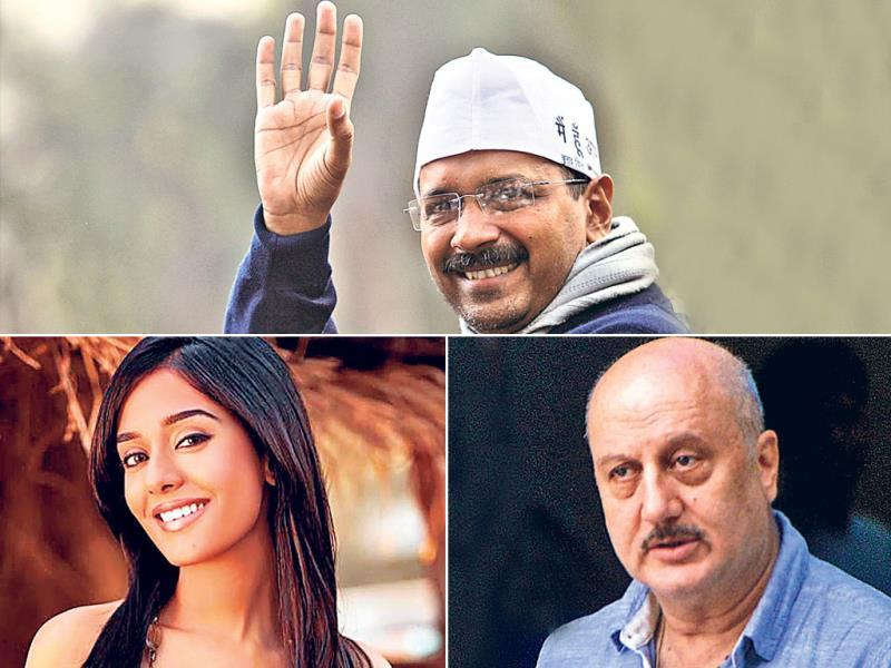 "Arvind Kejriwal: The Delhi chief minister follows Amrita Rao and Anupam Kher, Kailash Kher, Shekhar Kapur and Aamir Khan. ""I know I'm the only Bollywood actress being followed by him. It came as a pleasant notification. I follow him with tremendous regard,"" says Rao."