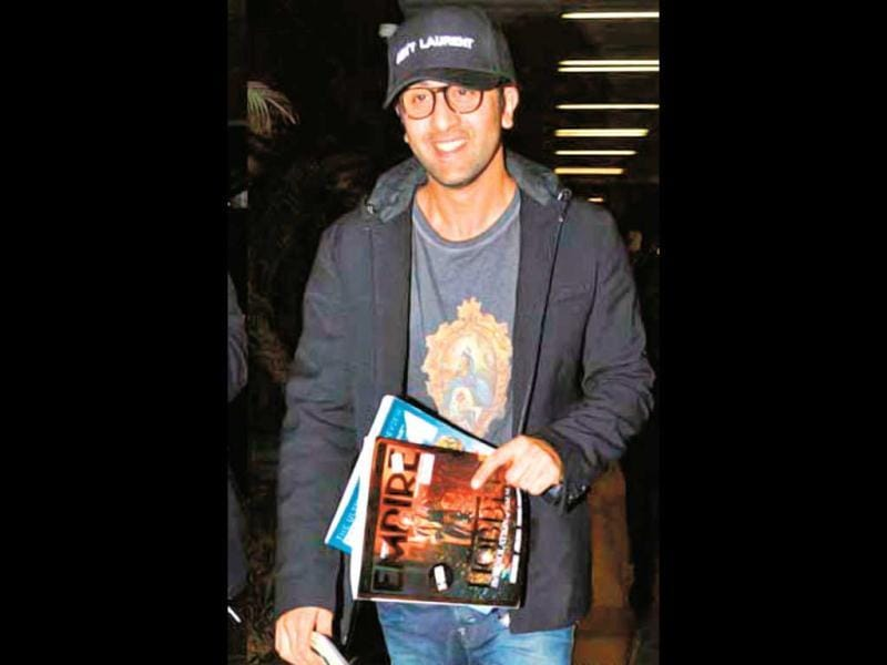 Nerds have inspired Bollywood celebs and how! Ranbir Kapoor is a point in case. (HT Photo)