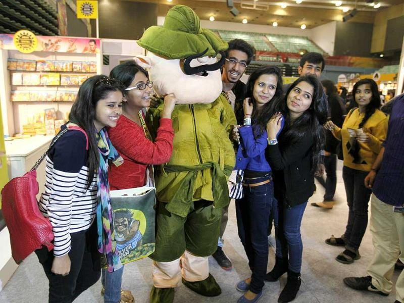 Get a picture with Shikari Shambhu! All this and more are the 4th Annual Comic Con (Raj K Raj/HT)