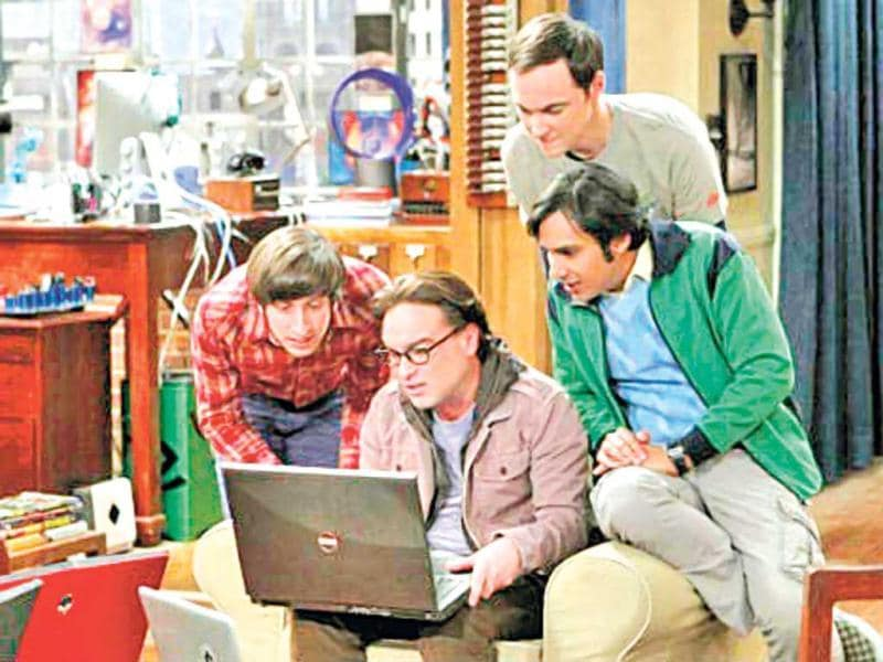 The characters of American sitcom, The Big Bang Theory, are a big style inspiration for the devout geeks. (HT Photo)