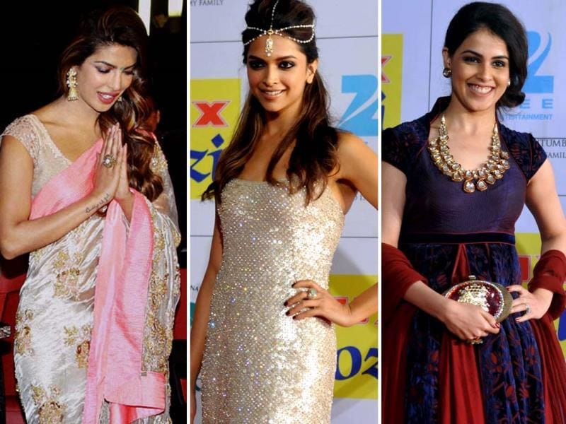 B-town actors were at their glam best while attending a recent awards function. Check out the best dressed at the do.