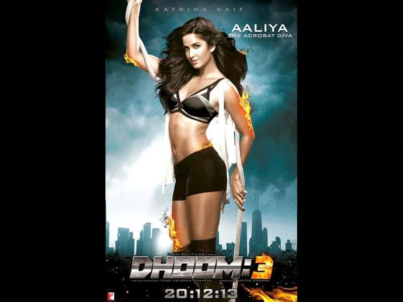 Katrina Kaif impressed everyone with her stunts in Ek Tha Tiger and acrobatic skills in Dhoom:3.