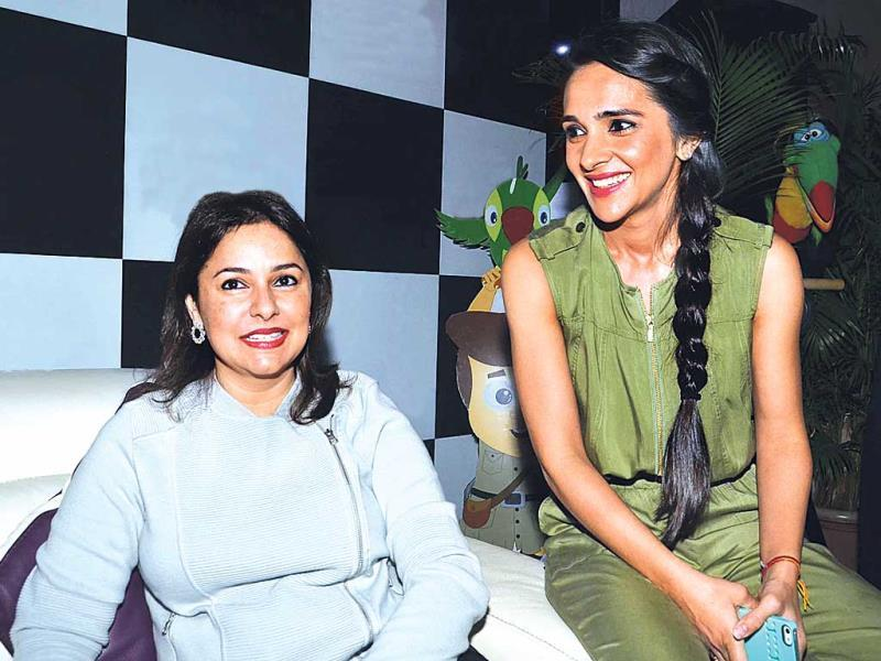 Sachin Tendulkar's wife Anjali and actor Tara Sharma.