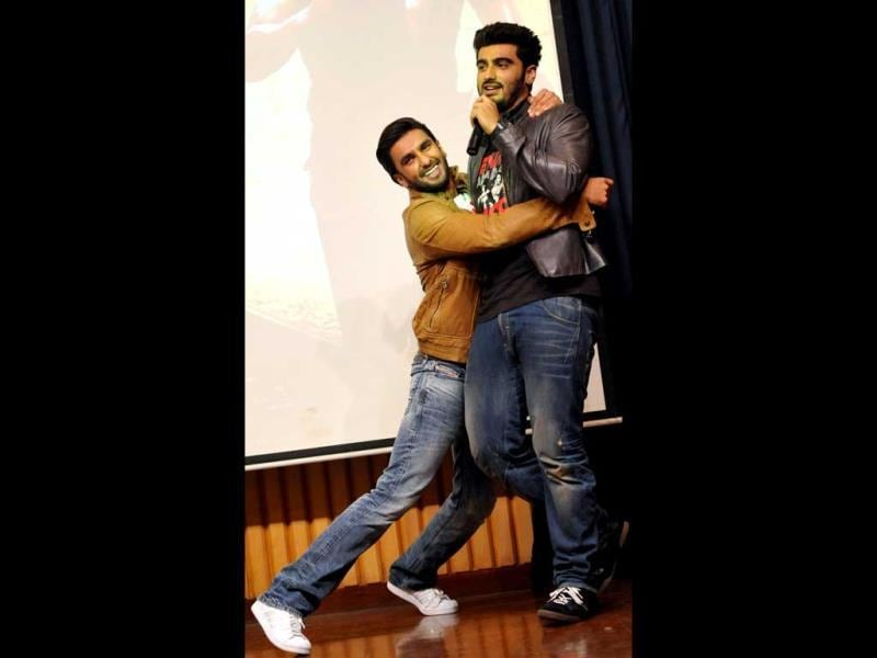 Ranveer Singh and Arjun Kapoor's off screen Dostana translates into their on-screen chemistry in Gunday.