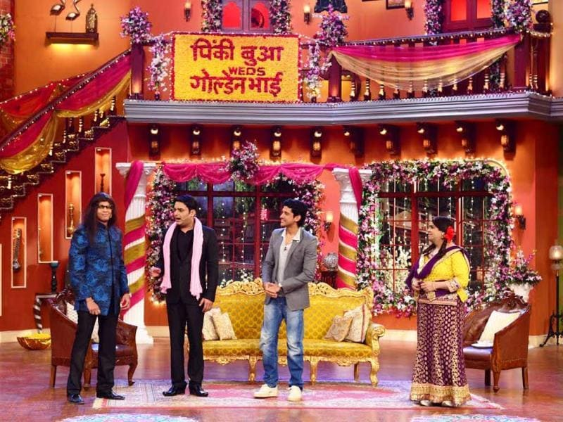 Farhan Akhtar on Comedy Nights with Kapil.