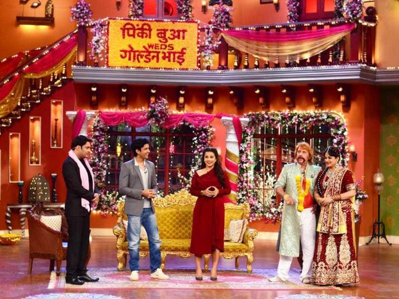 Vidya Balan and Farhan Akhtar on Comedy Nights with Kapil.