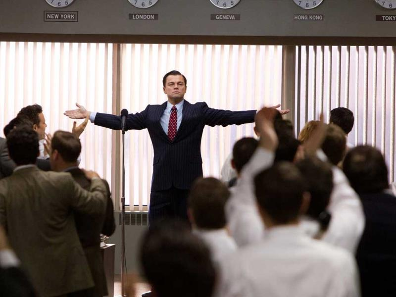 The Wolf of Wall Street is present in Best Actor (Leonardo DiCaprio) and Best Director (Martin Scorsese) categories.