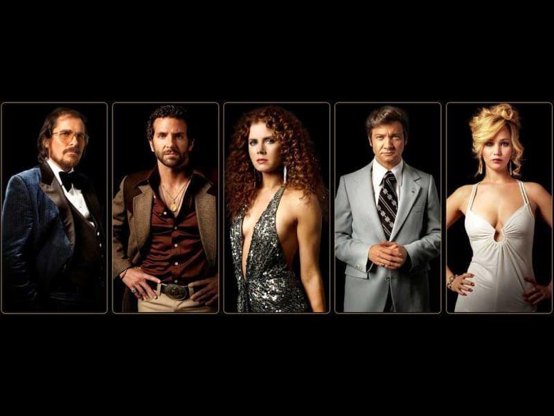 American Hustle has been nominated in best film, best actor, best actress, best supporting actor, best supporting actress and best director (David O Russell) categories.
