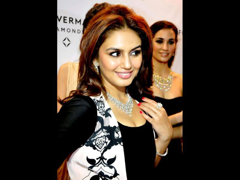 Pretty! Huma Qureshi at the event.