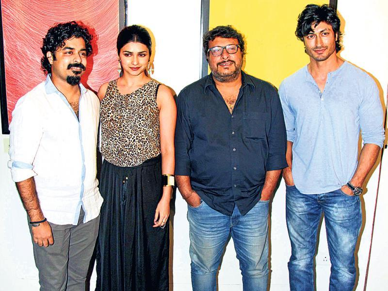 Actor Prachi Desai and film-maker Tigmanshu Dhulia were guests at a party hosted by painter Gaurav Bose