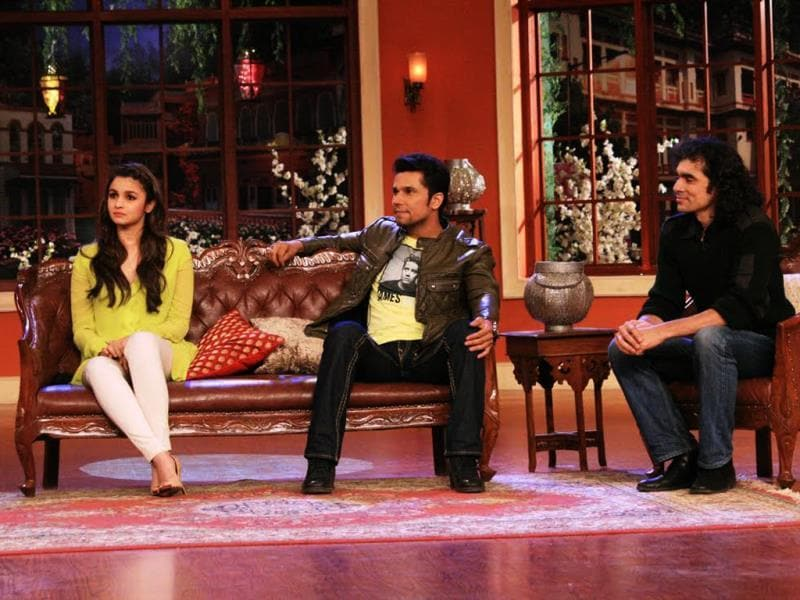 Highway team on sets of Comedy Nights with Kapil.