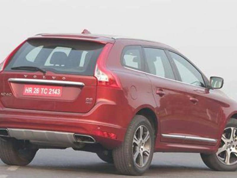 Volvo XC60 review, test drive